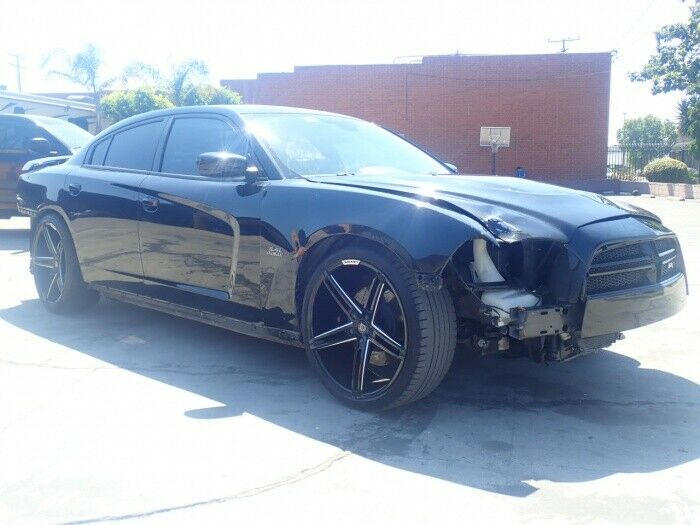 well equipped 2013 Dodge Charger SRT8 repairable