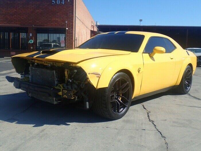 big block 2018 Dodge Challenger SRT Hellcat repairable