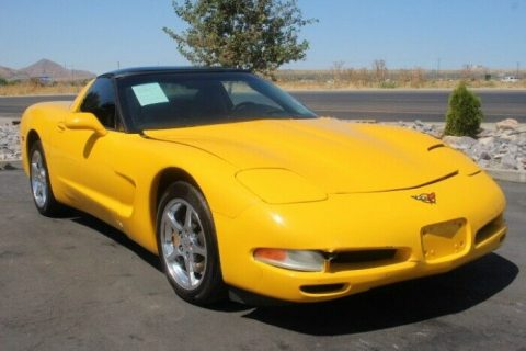 classic 2004 Chevrolet Corvette Coupe repairable for sale