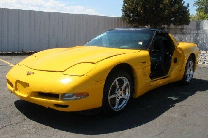 classic 2004 Chevrolet Corvette Coupe repairable