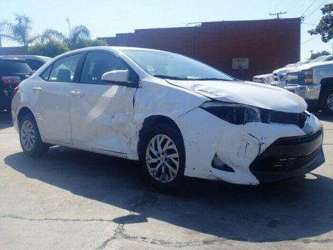 low mileage 2018 Toyota Corolla repairable for sale