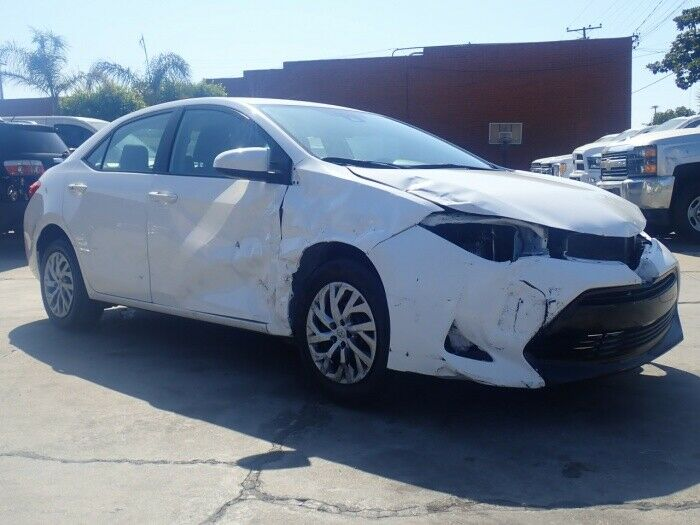 low mileage 2018 Toyota Corolla repairable