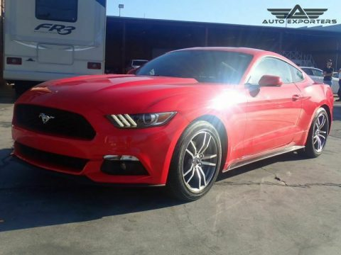 low miles 2016 Ford Mustang EcoBoost repairable for sale