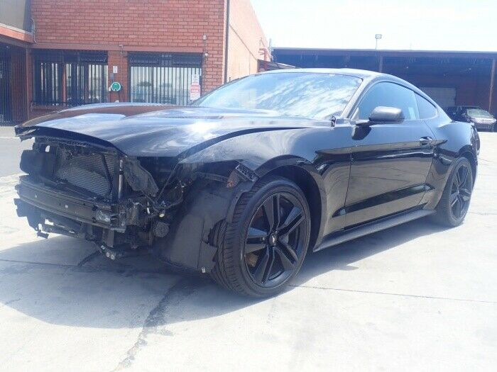 well equipped 2015 Ford Mustang EcoBoost repairable