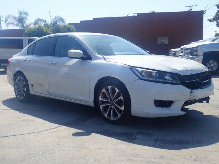 well equipped 2015 Honda Accord Sport repairable