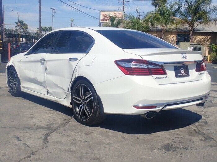 well equipped 2016 Honda Accord Sport repairable