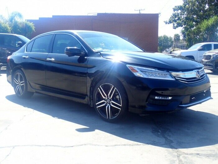 well equipped 2017 Honda Accord Touring repairable
