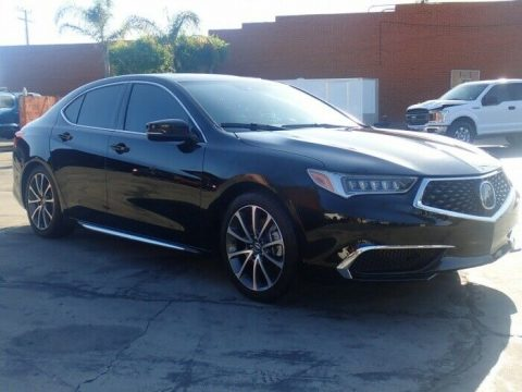 well equipped 2018 Acura TLX technology package repairable for sale