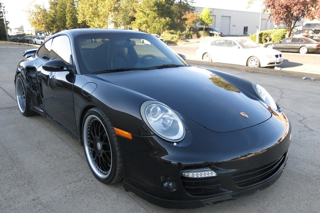 easy fix 2008 Porsche 911 Turbo repairable