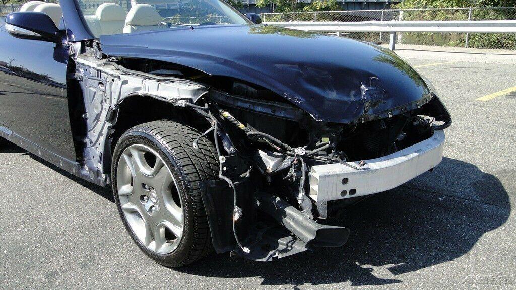 front damage 2009 Lexus SC 4.3L V8 Automatic 6 Speed repairable