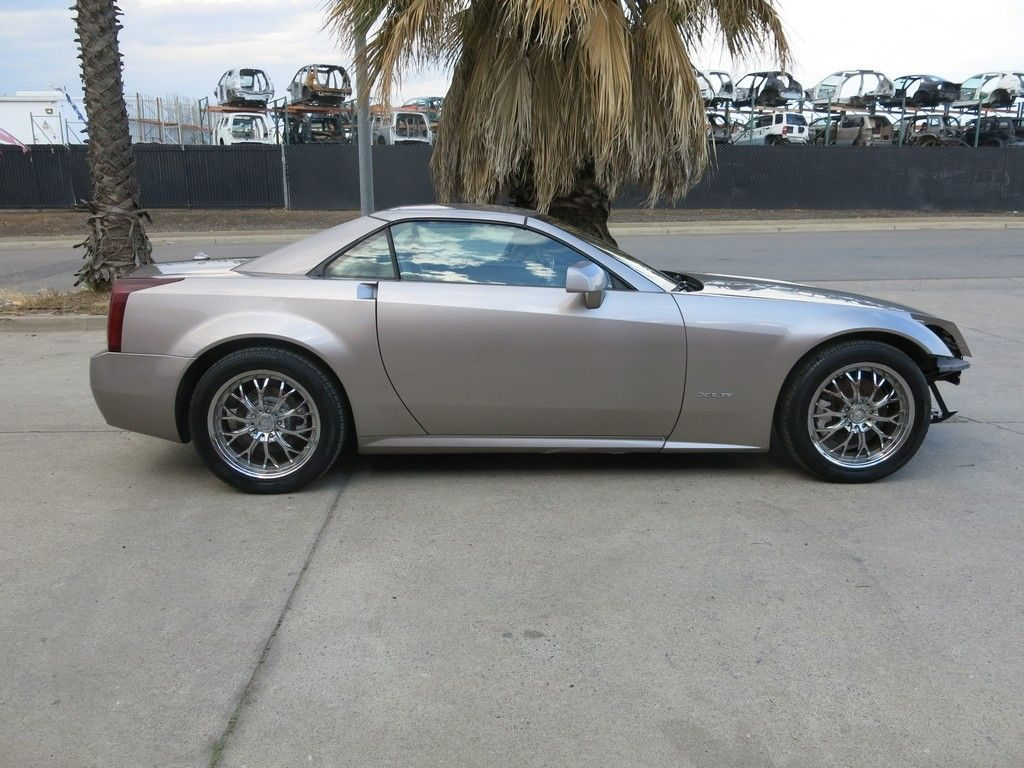fully loaded 2005 Cadillac XLR Hard Top Convertible repairable