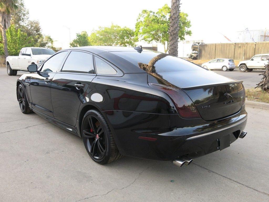 fully loaded 2014 Jaguar XJ XJR repairable
