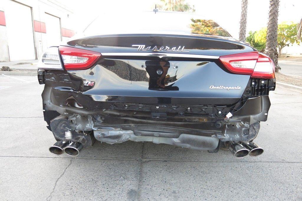 fully loaded 2015 Maserati Quattroporte S Q4 repairable