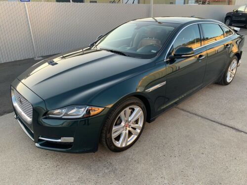 fully loaded 2017 Jaguar XJ XJL Portfolio repairable