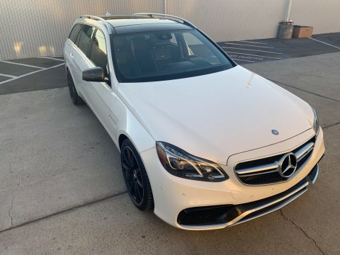 loaded 2015 Mercedes Benz E Class AMG repairable for sale