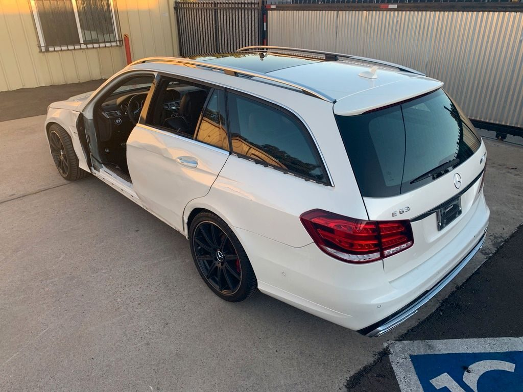 loaded 2015 Mercedes Benz E Class AMG repairable