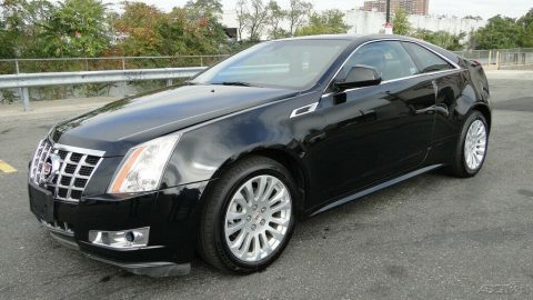 low mileage 2013 Cadillac CTS Premium 3.6L V6 AWD repairable for sale