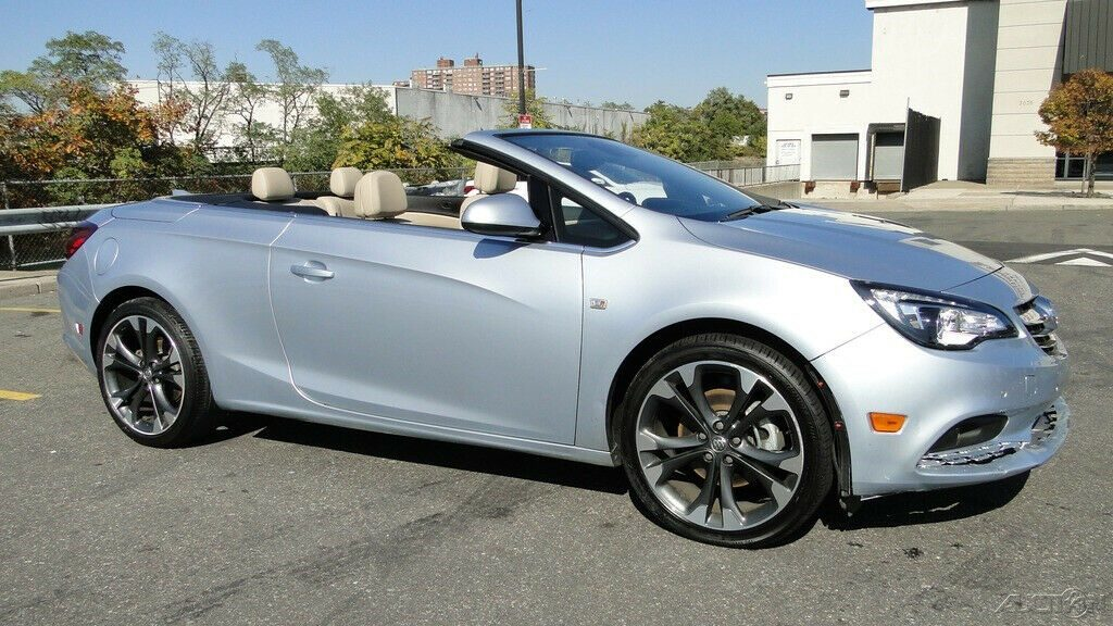 low miles 2016 Buick Cascada Premium repairable