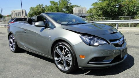 low miles 2017 Buick Cascada Premium repairable for sale