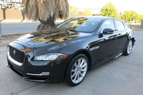 fully loaded 2018 Jaguar XJ repairable for sale