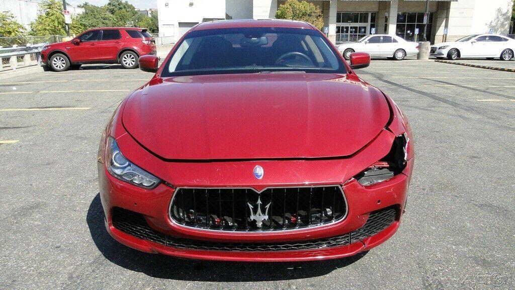 light damage 2016 Maserati Ghibli 3.0L V6 Twin Turbocharger repairable