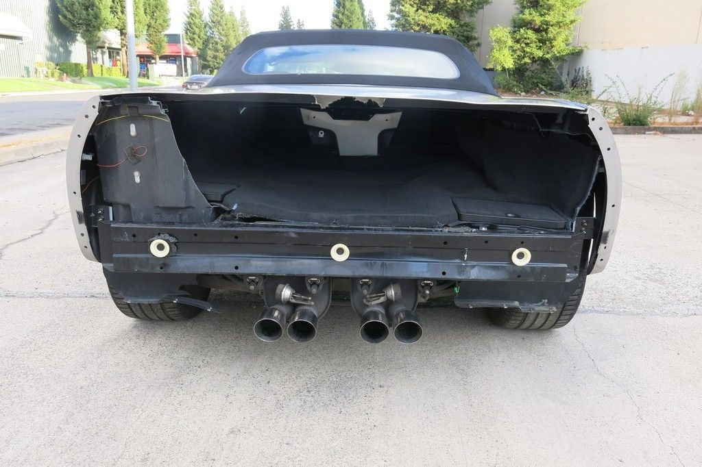 loaded 2008 Chevrolet Corvette Convertible/6.2l 8V/LS3 repairable