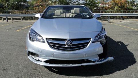 low mileage 2016 Buick Cascada Premium repairable for sale
