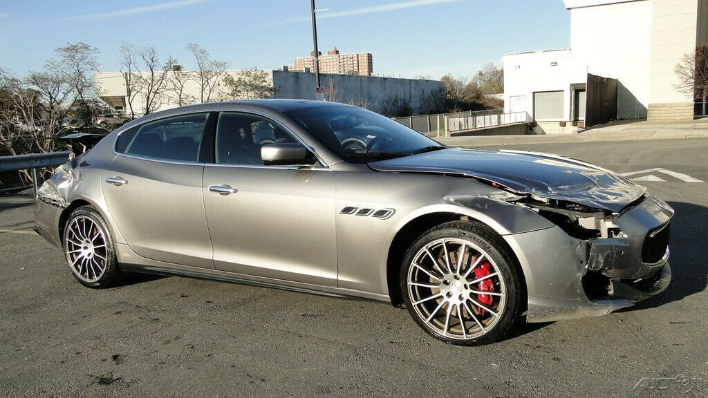 low miles 2016 Maserati Quattroporte S V6 Twin Turbocharger repairable