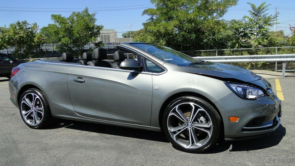 low miles 2017 Buick Cascada Premium repairable