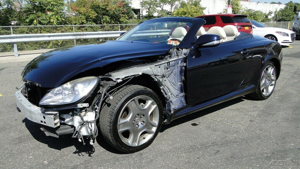 well equipped 2009 Lexus SC 4.3L V8 Automatic 6 Speed repairable