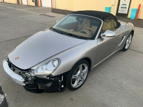 loaded 2011 Porsche Boxster 2.9L Tiptronic PDK Convenience Package repairable for sale