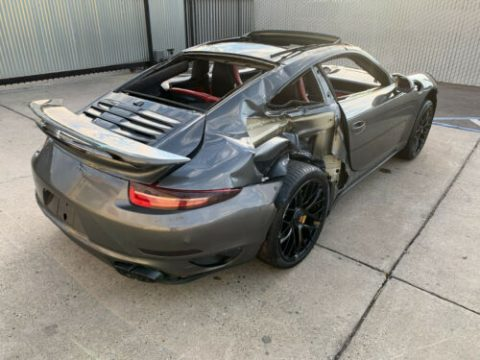 loaded 2015 Porsche 911 Turbo S repairable for sale