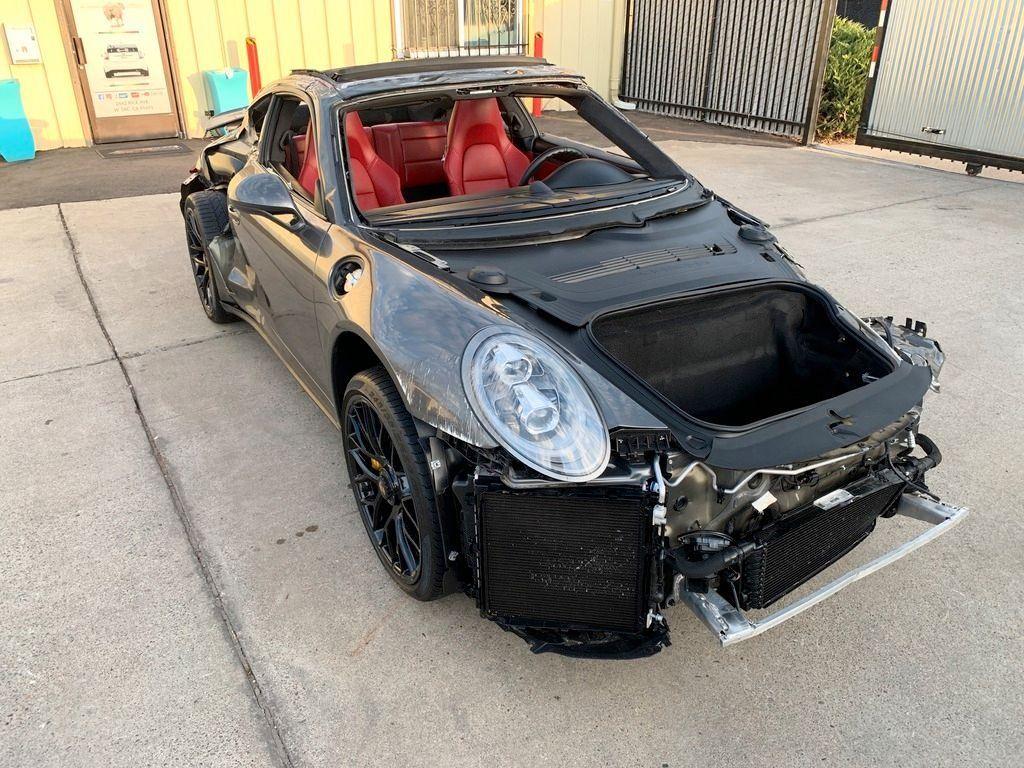 loaded 2015 Porsche 911 Turbo S repairable
