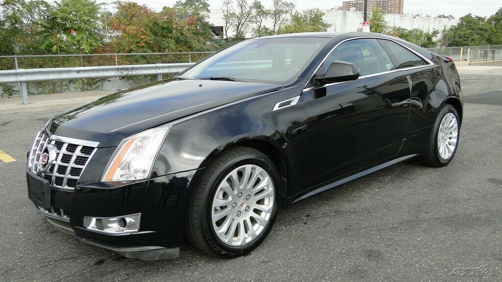 low miles 2013 Cadillac CTS Premium 3.6L V6 AWD repairable
