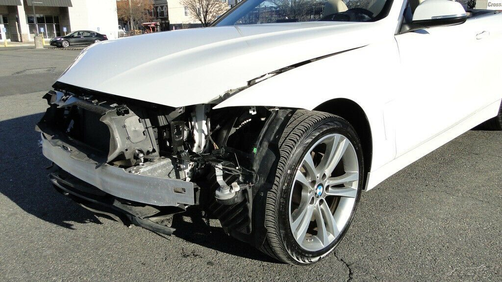 low miles 2017 BMW 4 Series i xDrive repairable