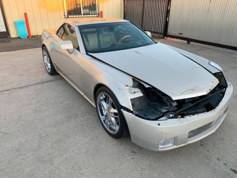 well equipped 2006 Cadillac XLR Hard Top Convertible repairable for sale