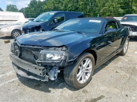 light damage 2014 Chevrolet Camaro LT repairable for sale