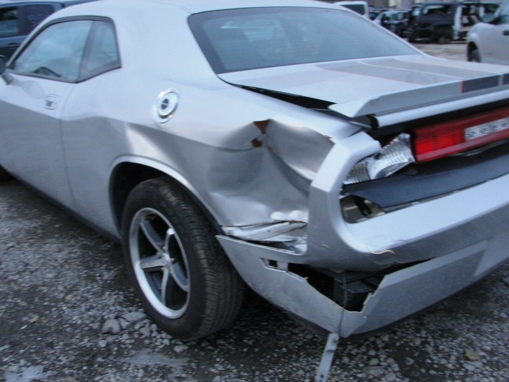 low miles 2010 Dodge Challenger SE Repairable