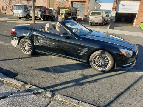 running 2013 Mercedes Benz SL Class repairable for sale