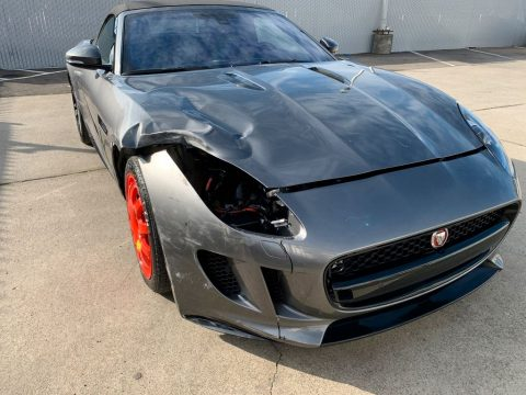 loaded 2017 Jaguar F Type Supercharged Premium repairable for sale