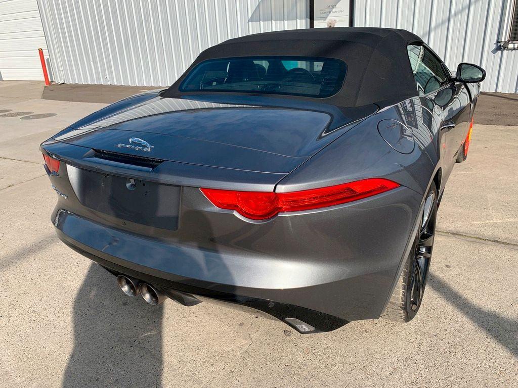 loaded 2017 Jaguar F Type Supercharged Premium repairable