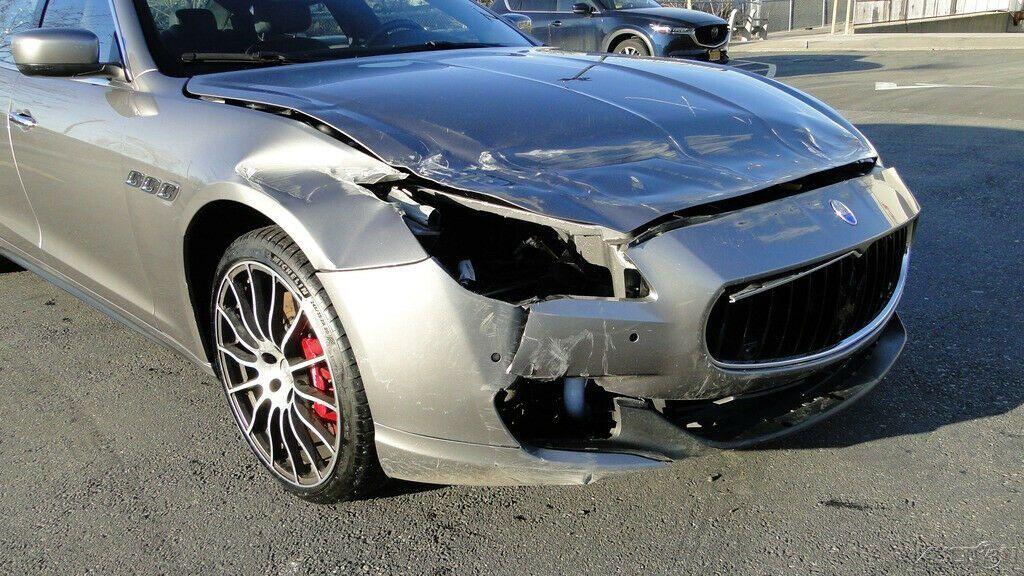 low mileage 2016 Maserati Quattroporte S Q4 3.0L V6 repairable
