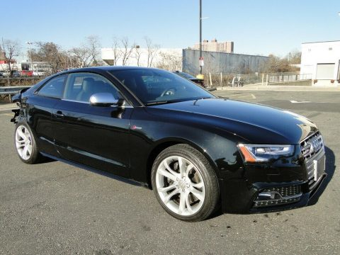 low miles 2016 Audi S5 3.0T Premium Plus repairable for sale