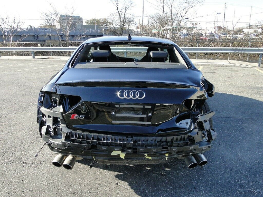 low miles 2016 Audi S5 3.0T Premium Plus repairable