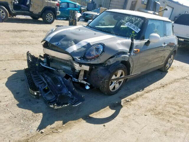 low miles 2017 Mini Cooper repairable