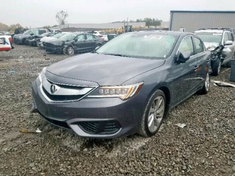 low miles 2018 Acura ILX premium Package repairable for sale