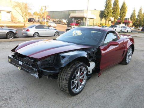 strong 2008 Chevrolet Corvette ZO6 7.0L repairable for sale
