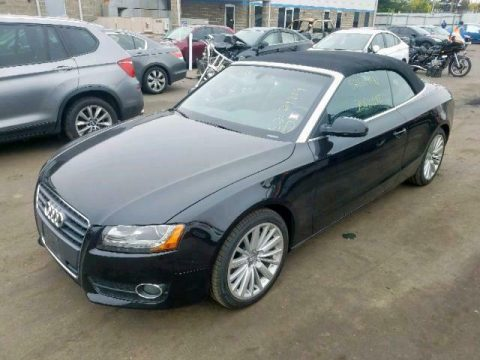 well optioned 2012 Audi A5 repairable for sale
