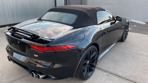 well optioned 2014 Jaguar F Type Supercharged S Type repairable for sale