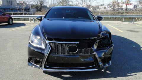 easy damage 2014 Lexus LS repairable for sale